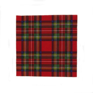 Household - Napkins - Royal Stewart