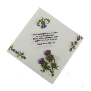Household - Napkins - Thistles^Burns