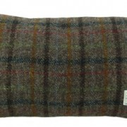 Cushion - Glen Appin - Brown Check (red) - Rectangular - front