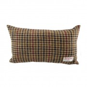 Cushion - Glen Appin - Dogtooth (brown) - Rectangular - front