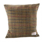 Cushion - Glen Appin - Dogtooth (brown) - Square - front