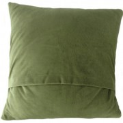 Cushion - Glen Appin - Patchwork (green) - Back