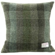 Cushion - Glen Appin - Patchwork (green) - Square - front