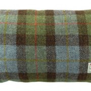 Cushion - Glen Appin - Tartan (blue) - Rectangular - front