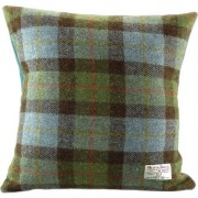 Cushion - Glen Appin - Tartan (blue) - Square - front