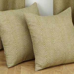 Cushion - Herringbone - Green