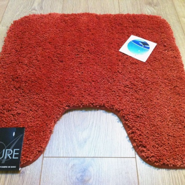 Household - Allure - Pedestal Mat - Terracotta
