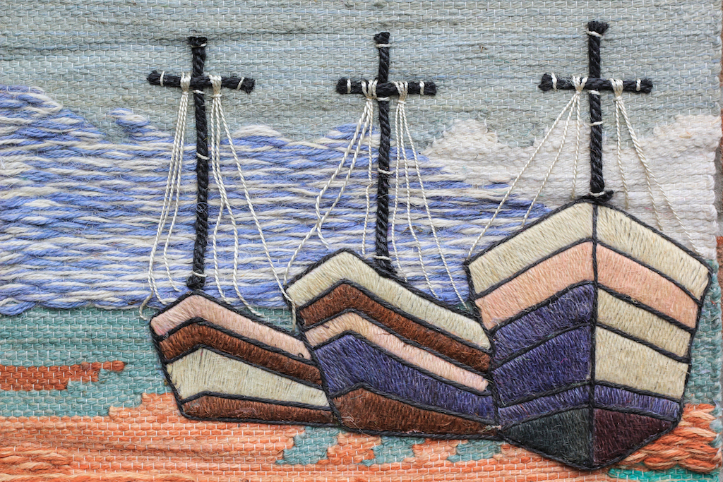 Tapestry - Three Boats