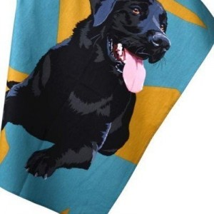 Tea Towel - Black Labrador