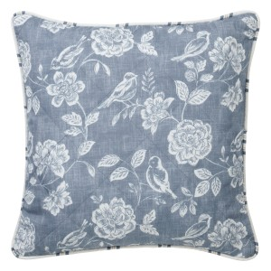 Bird Garden - Denim - Cushion
