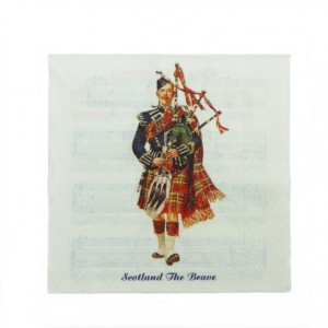 Napkins - Scottish Piper