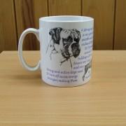 Boxer - Front - Mug