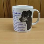 Doberman - Front - Mug