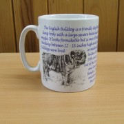 English Bulldog - Back - Mug