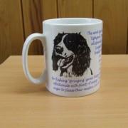 Springer Spaniel - Back - Mug