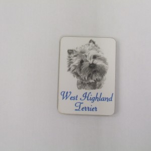 West Highland Terrier - Magnet