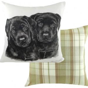 WAG black labrador pupz
