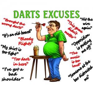 Microfibre cloth - Darts Excuses