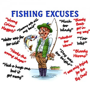 Microfibre cloth - Fishing Excuses