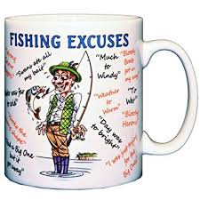 Mug - Fishing Excuses