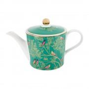 Sara Miller - Teapot - Green Birds 02