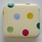 Small Tin - Polka Dot