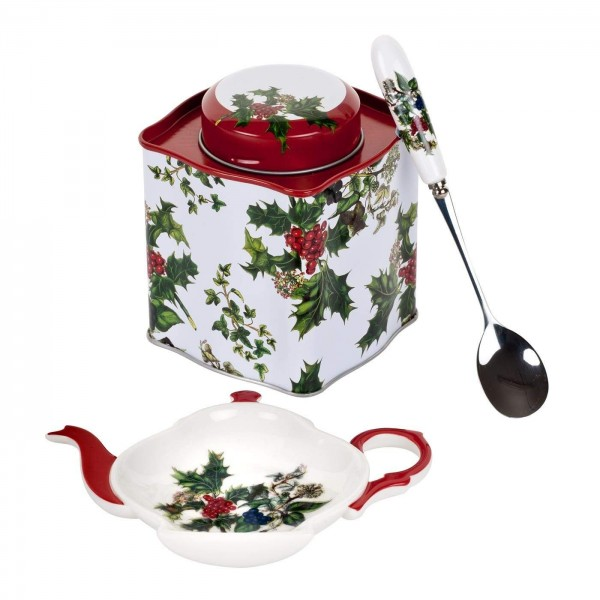 Holly and the Ivy - 3-piece tea set