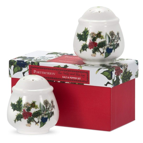 Holly and the Ivy - Salt and pepper set