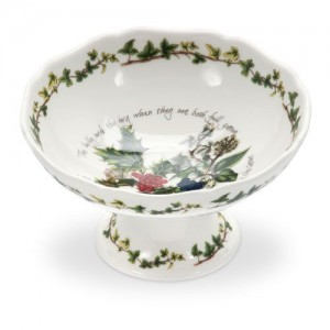Holly and the Ivy - Scalloped Dish