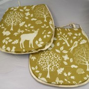Ashdown Seat Pad - Gold 02 02