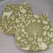 Ashdown Seat Pad - Green 02