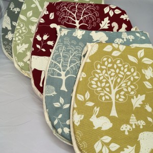 Ashdown Seat Pad - Mixed 02