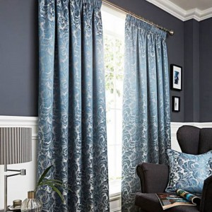 Buckingham Curtains - Duckegg 01