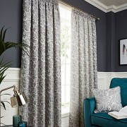 Buckingham Curtains - Grey 01