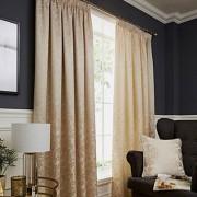 Buckingham Curtains - Natural 01