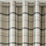 Hudson Woven Curtains - Grey 01