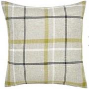 Hudson Woven Cushion - Green 01