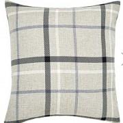 Hudson Woven Cushion - Grey 01