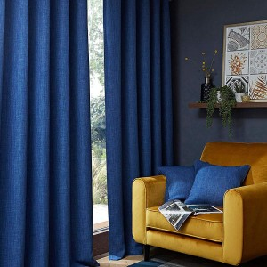 Hugo Blackout Curtain - Navy 01