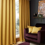 Hugo Blackout Curtain - Ochre 01
