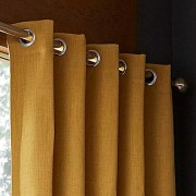 Hugo Blackout Curtain - Ochre 02