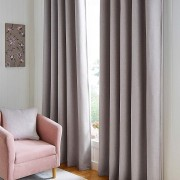 Hugo Blackout Curtain - Pale Silver 01