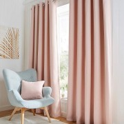 Hugo Blackout Curtain - Soft Pink 01