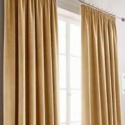Montreal Curtains - Gold 01