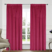 Montreal Curtains - Hot Pink 01