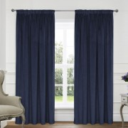 Montreal Curtains - Navy 01