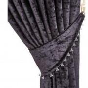 Scarpa Velvet Tieback - Black 01