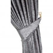 Scarpa Velvet Tieback - Silver 01