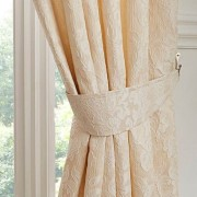 Tuscany Tiebacks - Cream