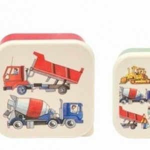 Emma Bridgewater - Men at Work - Set of 4 Boxes